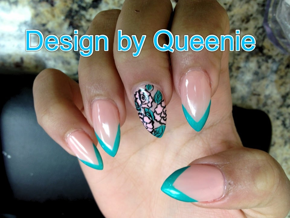 Stiletto nails by jennifer yelp auto design tech for 3d nail salon upland ca