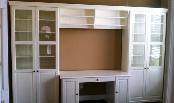 Hemnes Storage Unit with Bridge and Desk | Yelp