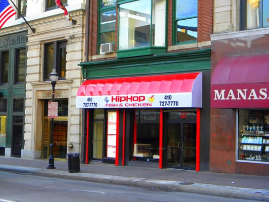 Hip hop fish chicken fast food downtown baltimore for Hip hop fish and chicken baltimore md