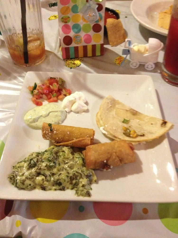 baby shower appetizers spinach dip was awesome yelp