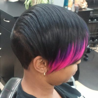 ... piece quick weave hairstyles 27pc mohawk quick weave 27 pcs hairstyles