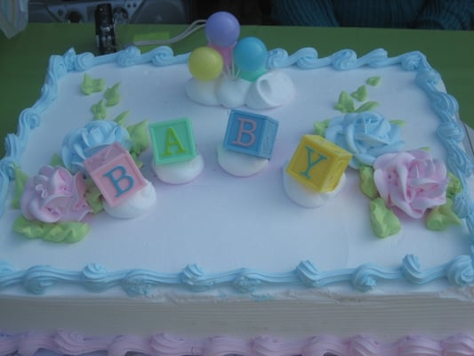 pasteles para baby shower de nino