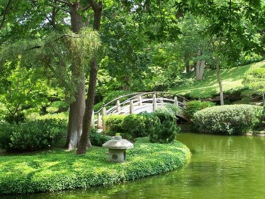 Japanese Garden At The Fort Worth Botanical Garden Botanical Gardens Arlington Heights