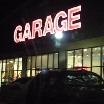 Garage clothing store locations