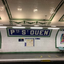 metro porte de ouen treinstations parijs frankrijk yelp