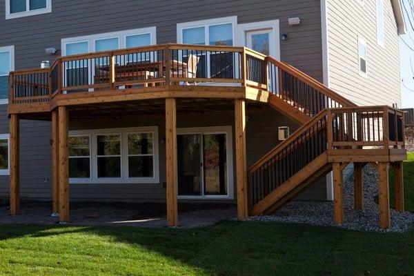 Walk out basement deck designs - Walkout basement designs ...