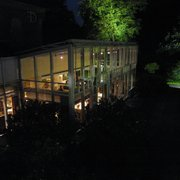 Gourmet Restaurant Lerbach at night
