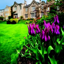 Priory Hotel in the Spring