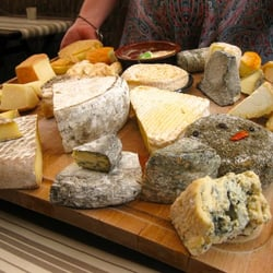 The fantastic cheese selection