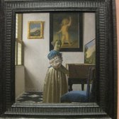 "Vermeer ""A Young Woman standing at a Virginal"