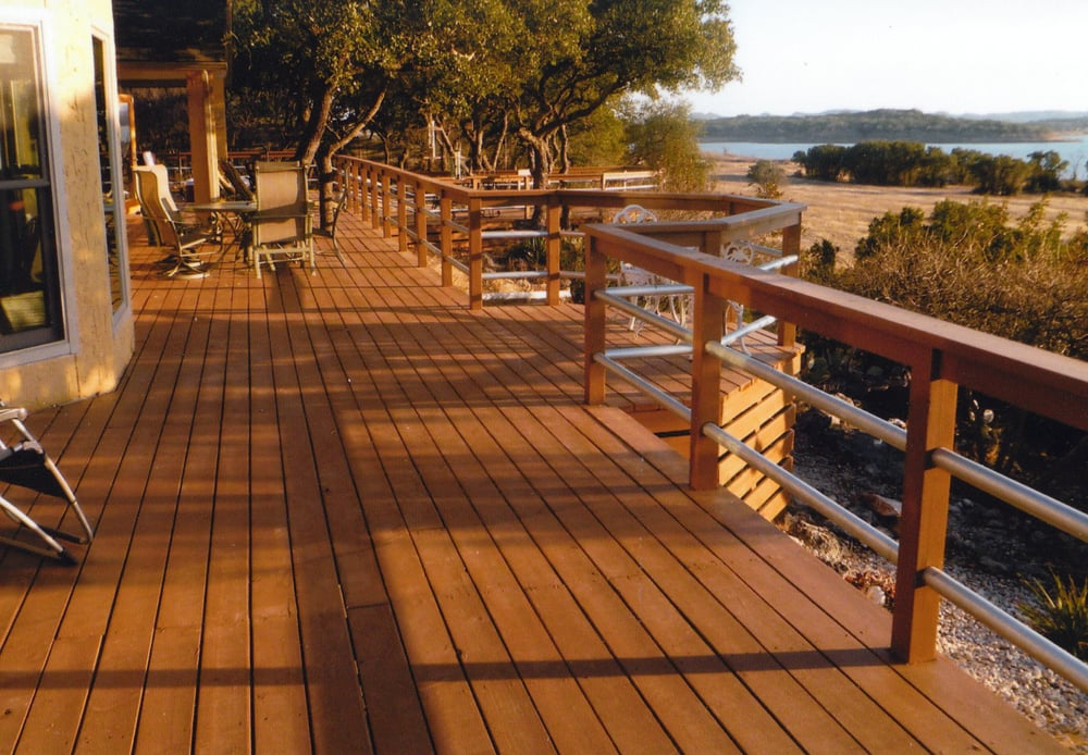 2 000 square foot wood and metal deck yelp for Hardwood floors 2000 sq ft