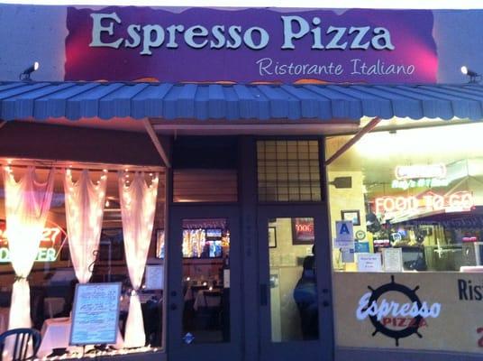 Espresso Pizza Ocean Beach