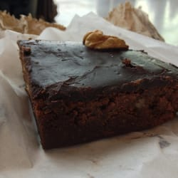 Awesome vegan brownie!