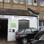 Bmerc Garage, Barnet, UK