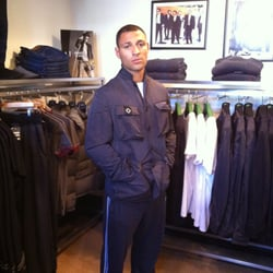 Boxing Champion Special Kell Brook sporting a MA.STRUM Quad Jacket.