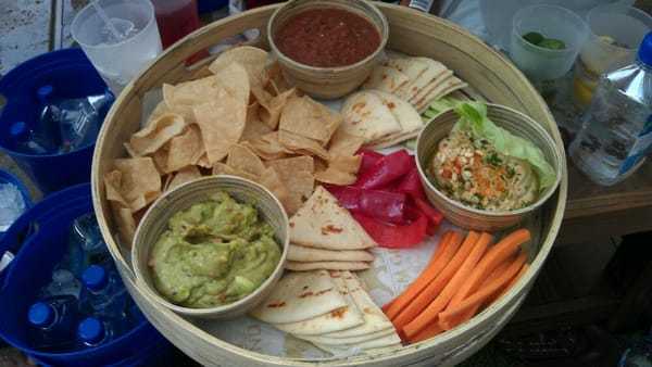 Hummus, Guacamole, and Salsa Recipes for Fourth of July