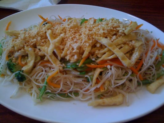 pho noodle house Stir with Xao Bun veggies fried Chay  seasonal fresh   V3   noodles