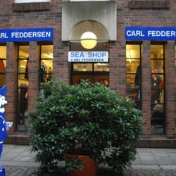 Carl Feddersen Sea Shop, Hamburg