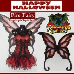 Fire Fairy another of our Dare2wearuk Range Exclusive to the Dragons Den