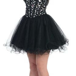 Beverly Hills Strapless Embellished Bodice Dress £222.00