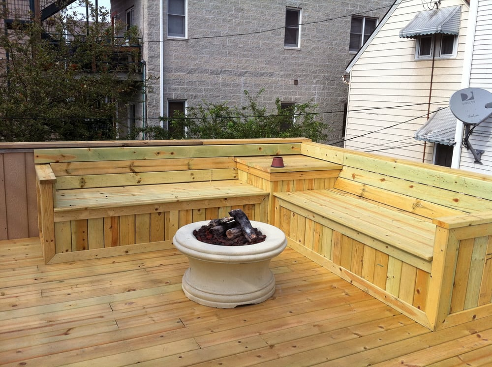 Deck Bench Seat Yelp