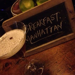Un Breakfast Manhattan: ¡sabor fuerte!