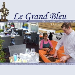 le grand bleu restaurant fran ais calais yelp. Black Bedroom Furniture Sets. Home Design Ideas