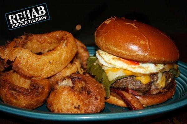 Rehab Burgery Therapy Hangover Burger