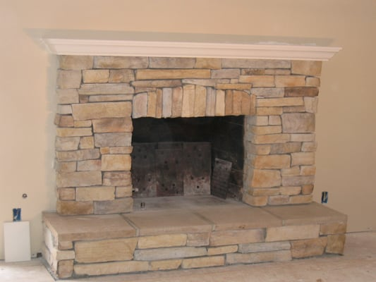 Custom Masonry Fireplace Design Inc Rolando San Diego Ca United States Yelp