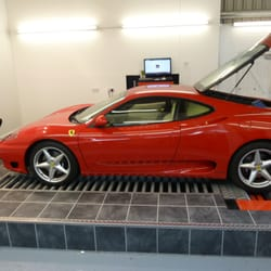 Ferrari 360 remap at quantum tuning uxbridge office