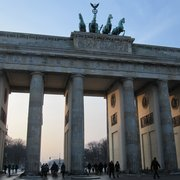 sunny winter mood at Brandenburg Gate :o)