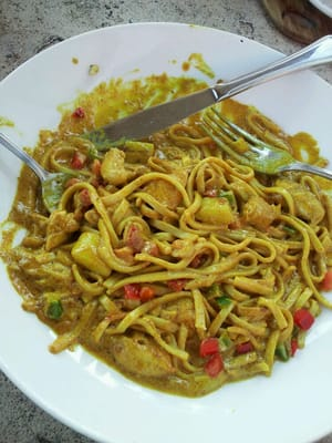 Chiang Mai chicken curry Noodles | Yelp
