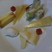 Seleccion de quesos Espanoles (selection of Spanish cheeses)