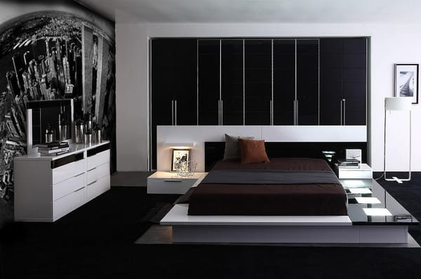 Impera Modern-Contemporary lacquer platform bed | Yelp