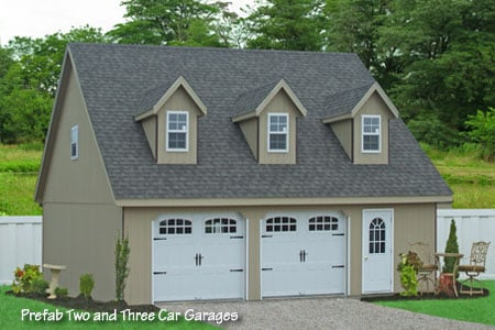 28x32 prefab two car garage in smithville pa buy this for Sip garage kits