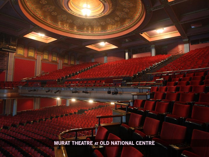 The Murat Theatre At Old National Centre Houses Some