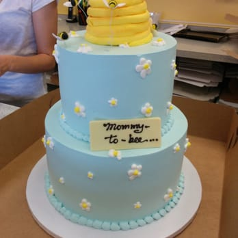 Baby Shower Cake!! Amazing and it doesn't have nasty fondant :)