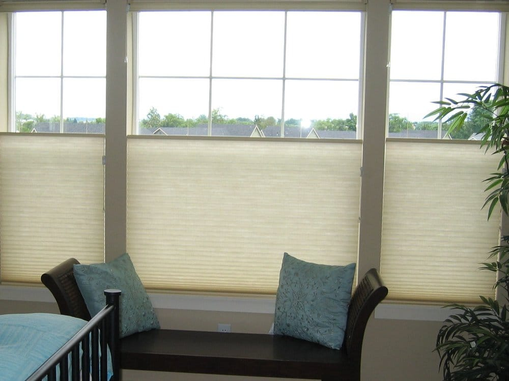 Honeycomb shades with top-down/bottom-up option by Anchor ...