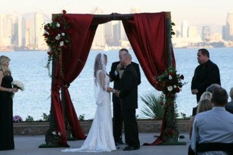 Arc de Belle 39s Sherwood Forest Wedding Canopy Wedding Chuppah