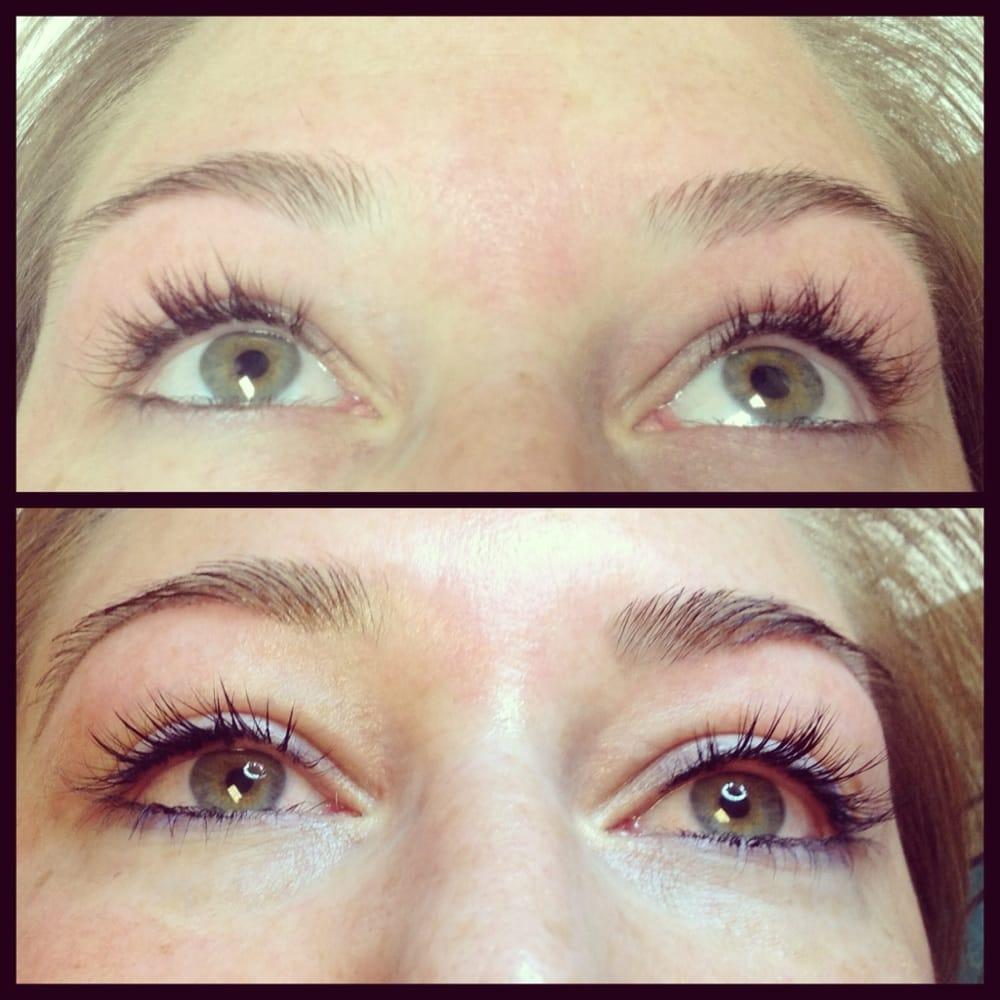 Eyebrow Tinting Before And After | Eyebrow