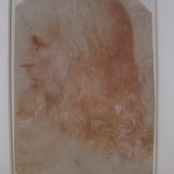 "Francesco Melzi ""A portrait of Leonardo da Vinci"""