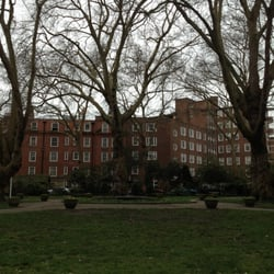 Ebury Square Gardens, London, UK