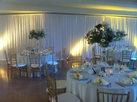 White Pipe And Draping Wall Draping Wedding Chiavari Chair Rental San Diego Los Angeles Linen Up