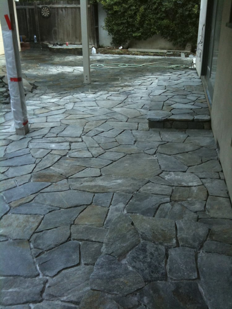 flagstone patio driveway and walkway call us today for your free estimate 818 921 0948 yelp. Black Bedroom Furniture Sets. Home Design Ideas