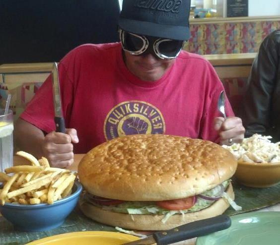 Big ass burgers