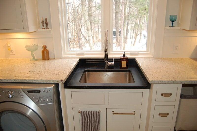 Soapstone Laundry Sink : Kashmir White granite & Soapstone laundry Yelp