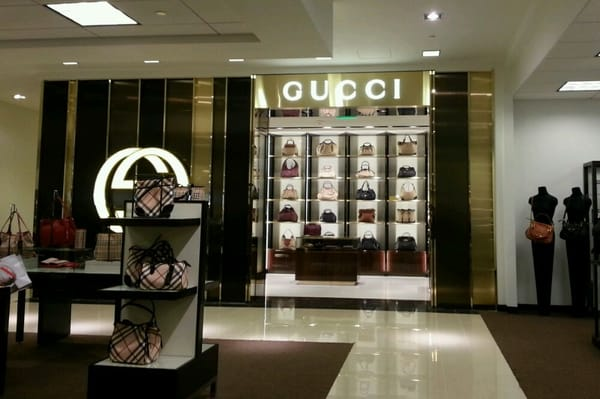 New Gucci store inside Bloomingdales
