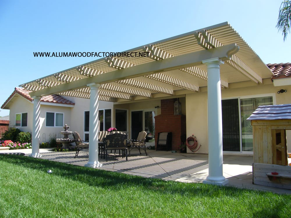 Alumawood Patio Cover Laguna Lattice Mission Viejo