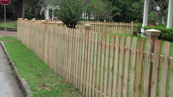 4 foot tall picket fence with optional post caps yelp for 4 foot fence ideas