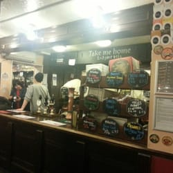 Good selection of ales and ciders